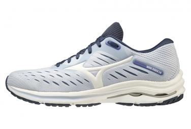 Zapatillas Mizuno Wave Rider 24 para Mujer Blanco / Azul