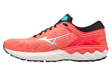Chaussures de Running Femme Mizuno Wave Skyrise Rouge