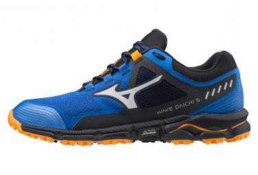 Chaussures de Trail Mizuno Wave Daichi 5 Bleu / Noir