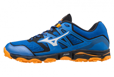 Chaussures de Trail Mizuno Wave Hayate 6 Bleu / Orange