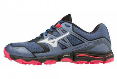 Zapatillas Mizuno Wave Hayate 6 para Mujer Gris / Rojo