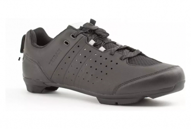 TRIBAN SPD Road Bike Shoes with Laces RC500 Black