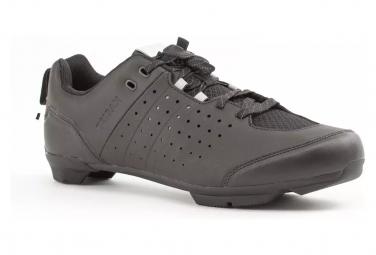 Chaussures Vélo Route à Lacets TRIBAN SPD Cyclotourisme RC500 Noir