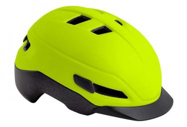 MET Grancorso Helmet Yellow Fluo Shiny Reflective
