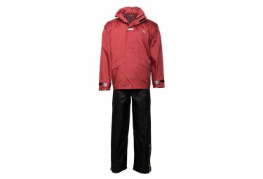 Image of Willex combinaison de pluie taille m rouge et noir 29149
