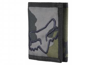 Portamonete Fox Mr. Clean velcro grigio mimetico