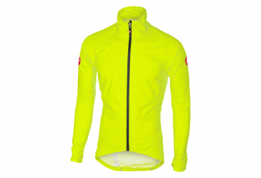 Giacca Castelli Emergency Rain Waterproof Giallo Fluo