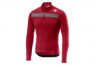 Castelli Puro 3 Jacket Dark Red