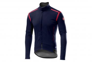 Castelli Perfetto RoS Detachable Sleeve Jacket Dark Blue