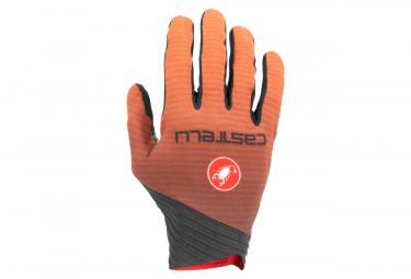 Paire de Gants Longs Castelli CW6.1 CROSS Orange
