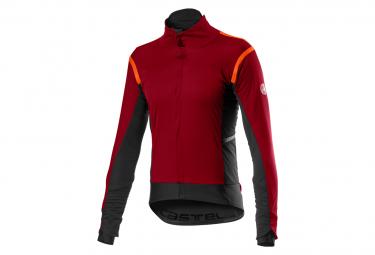Castelli Alpha RoS 2 Jacket Dark Red