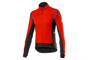 Castelli Alpha RoS 2 Jacke Rot