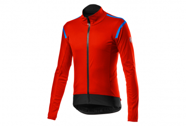 Castelli Alpha RoS 2 Light Jacket Red