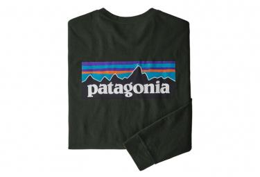 Camiseta patagonia l   s p 6 logo responsibili tee verde hombres l