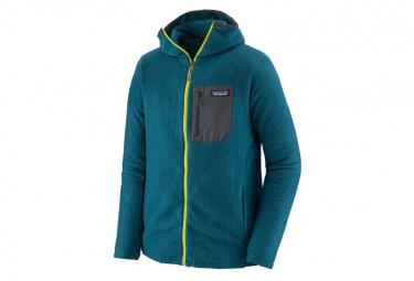 Technical Fleece Patagonia R1 Air Full Zip Hoody Azul Hombres L