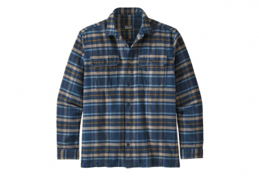 Chemise Manches Longues Patagonia Fjord Flannel Shirt Bleu