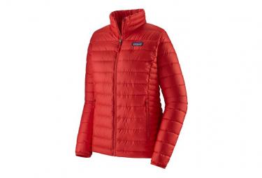 Chaqueta de down patagonia down sweater rojo mujer m