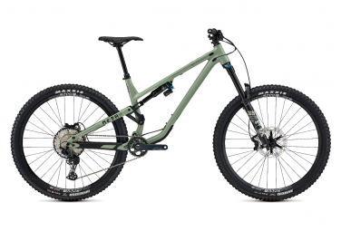 Commencal Meta Am 29 Essential Full Suspension Mtb Shimano Slx 12s Heritage Green 2021 M   168 180 Cm