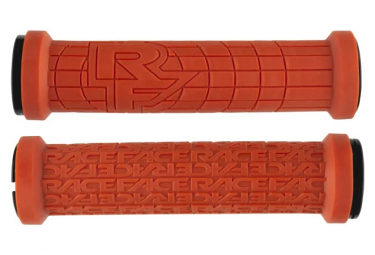 Puños Race Face Grippler Grip LTD - orange black