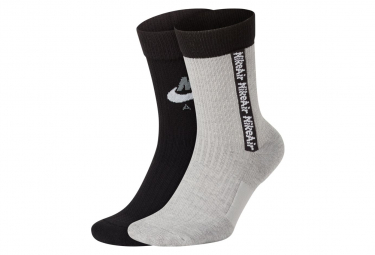 Nike Air Snkr Calcetines Blanco Negro S