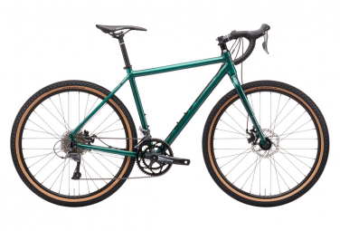 Bicicletta da ghiaia Kona Rove AL 650 Shimano Claris 8S 650b Metallic Canyon Green 2021