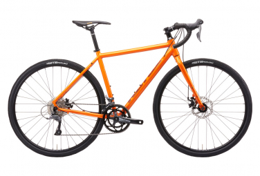 Kona Rove AL 700 Gravel Bike Shimano Claris 8S 700 mm Metálico Autumn Burn Orange 2021