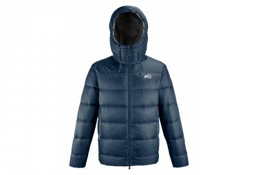 Millet k down chaqueta de plumon con capucha azul hombre m