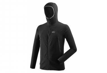 Millet K Lightgrid Hooded Polar Jacket Negro Hombres S
