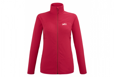 Millet K Lightgrid Polar Jacket Rojo Mujer M