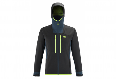 Millet Geilo Shield Kapuzenjacke Softshell Black Blue Men