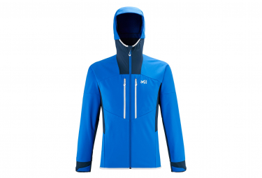 Millet Geilo Shield Kapuzenjacke Softshell Blue Men