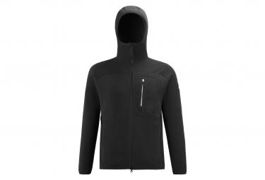 Millet Abrasion Hooded Polar Jacket Negro Hombres S