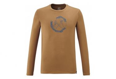 Camiseta Millet Old Gear Marron Hombre L