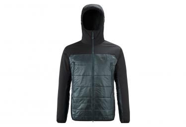 Millet Fus Airlof Hooded Polar Jacket Negro Azul Hombres S