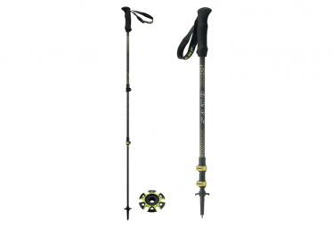 Camp Backcountry Carbon 2.0 3-part Telescopic Poles