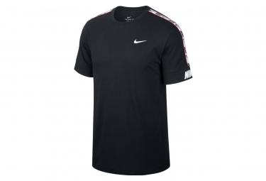 T-Shirt manica corta Nike Sportswear Repeat Nera