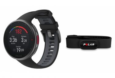 Orologio GPS Polar Vantage V2 nero + sensore HR H10