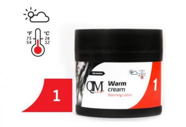 QM SPORTS Q1 Crème chauffante douce