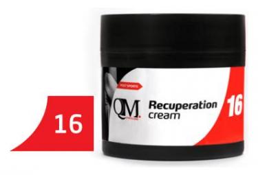 QM SPORTS Q16 Crème RECUPERATION