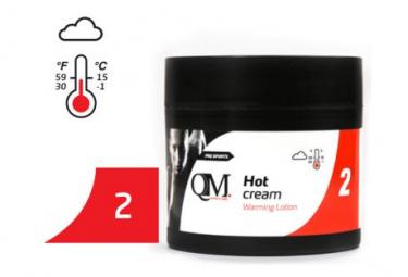 QM SPORTS Q2 Crème Chauffante Médium