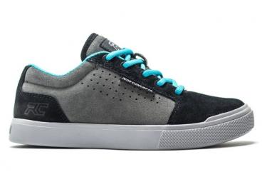 Ride Concepts Vice Gris   Negro Mtb Zapatos Ninos 37