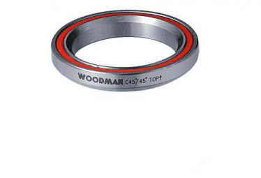 Roulement de Direction Woodman C45 1''1/8 45x45° (41.8x30.6x6.5mm)