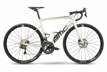 BMC Teammachine SLR Two Road Bike Shimano Ultegra Di2 11S 700 mm Grigio Perla 2021