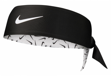 Nike Printed Dri-Fit Head Tie 3.0 Headband Black White Unisex