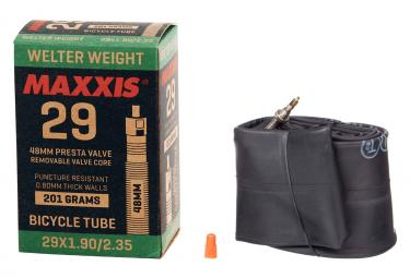 MAXXIS Chambre à Air WELTERWEIGHT 29 x 1.90/2.35'' Valve Presta RVC 48mm