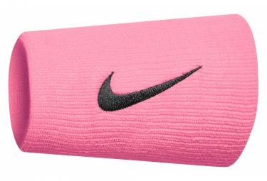 Bracelet éponge poignet Nike Swoosh Doublewide Rose Unisex