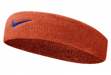 Nike Swoosh sponge Headband Orange Unisex