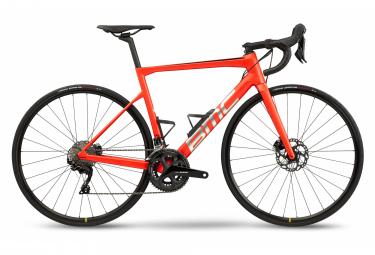 BMC Teammachine SLR Four Road Bike Shimano 105 11S 700 mm Racing Red Brushed 2021