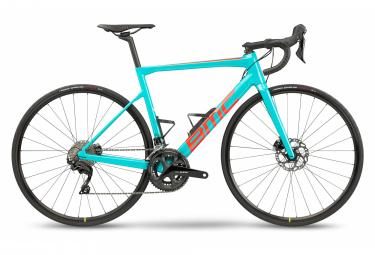 BMC Teammachine SLR Four Road Bike Shimano 105 11S 700 mm True Blue Neon Red 2021
