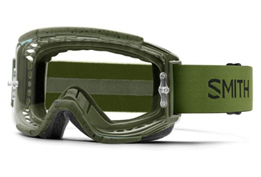 Mascara De Mtb Smith Squad Pantalla Verde   Transparente